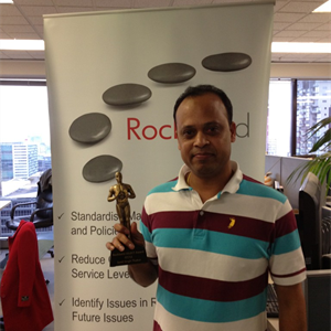 Well done Sunil, DBA of the Quarter