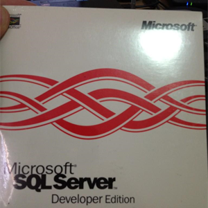 Amazing what you find when you tidy up!  SQL Server 6.5.