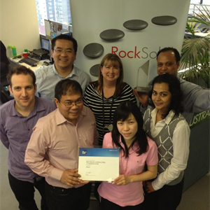 RockSolid SQL team celebrate MAPA win